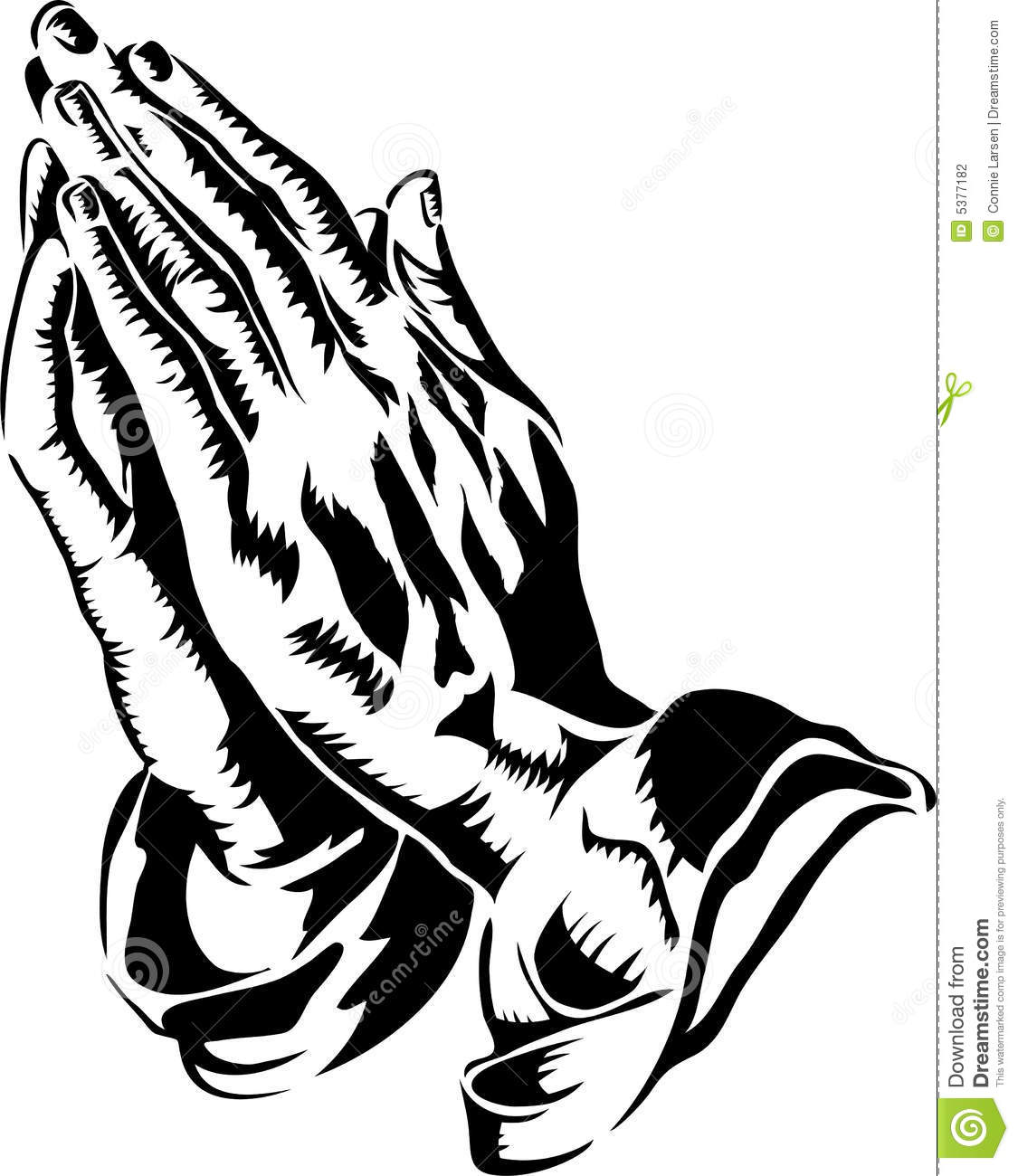 Praying Hands/eps stock vector. Illustration of drawings