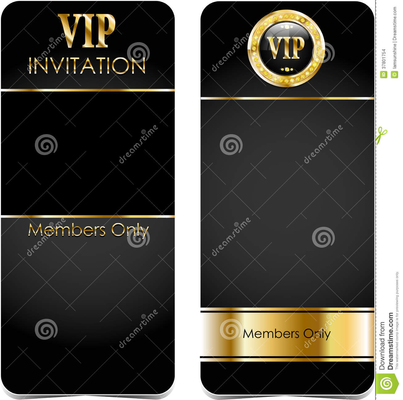 Premium Vip Cards Stock Images  Image 37801754