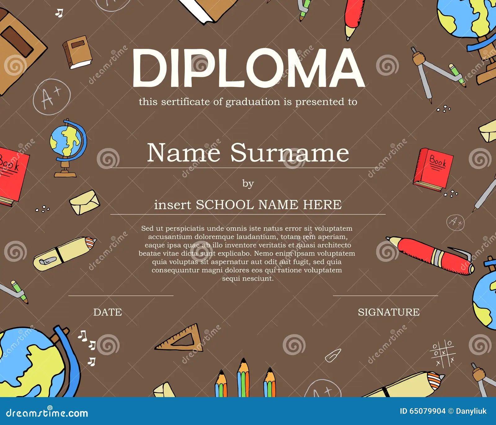cute certificate template