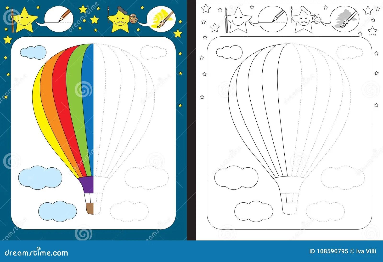 Original Hot Air Balloon Worksheets