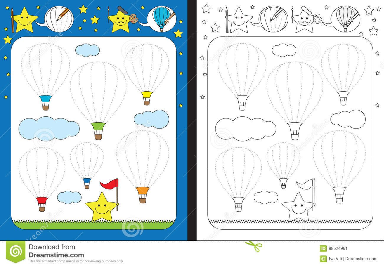 Air Worksheet Preschool