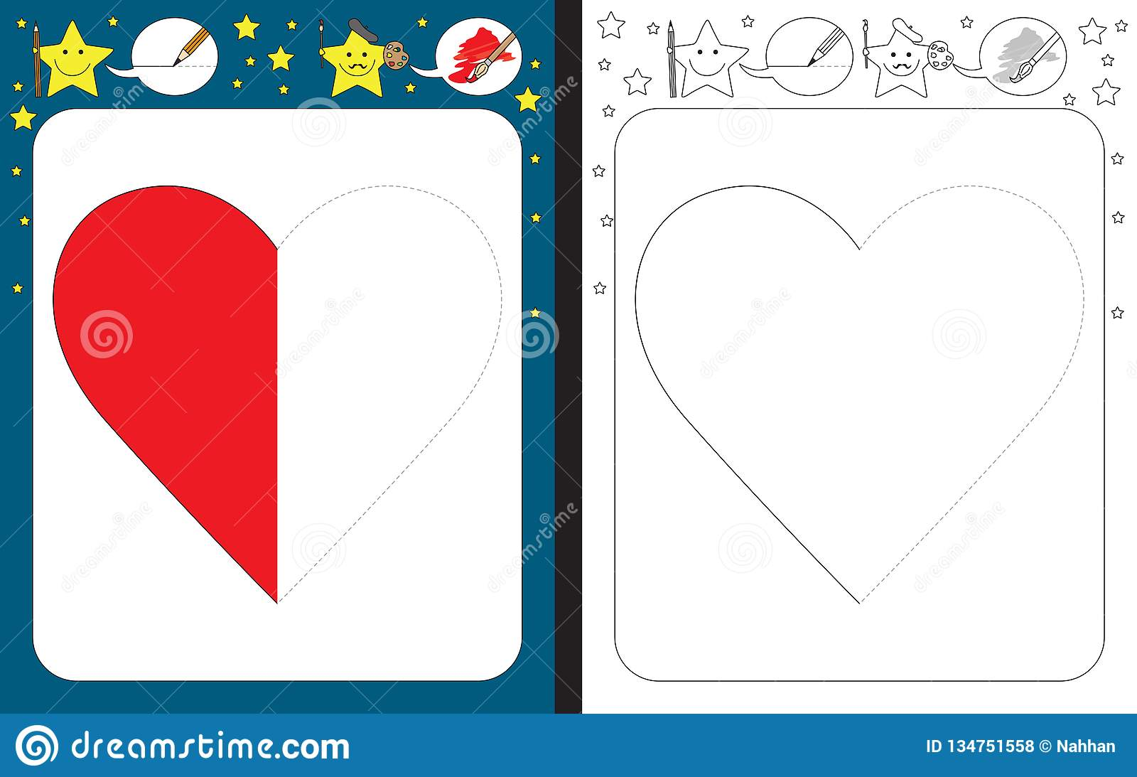 Latest Heart Tracing Worksheets For Preschool