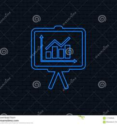 presentation billboard sign icon diagram symbol  [ 1300 x 1142 Pixel ]