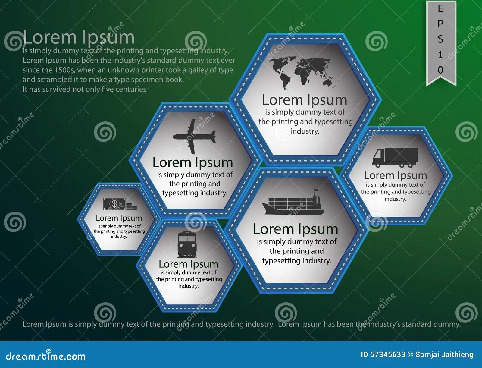 Presentation Poster Brochure Fl Yer Info Graphic Design Template Stock Vector  Image 57345633