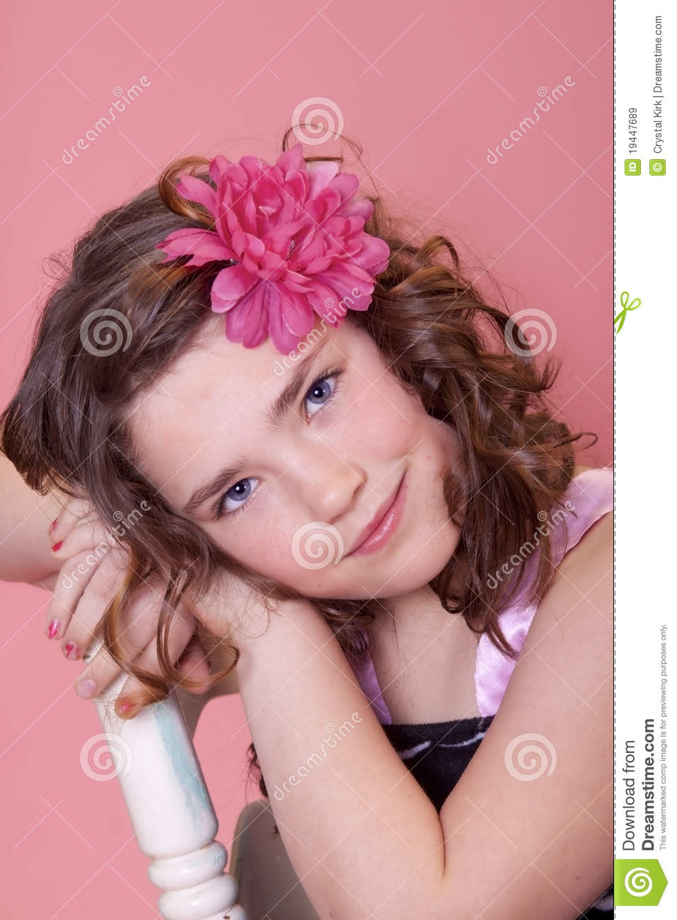 Pretty Preteen Royalty Free Stock Images Image 19447689