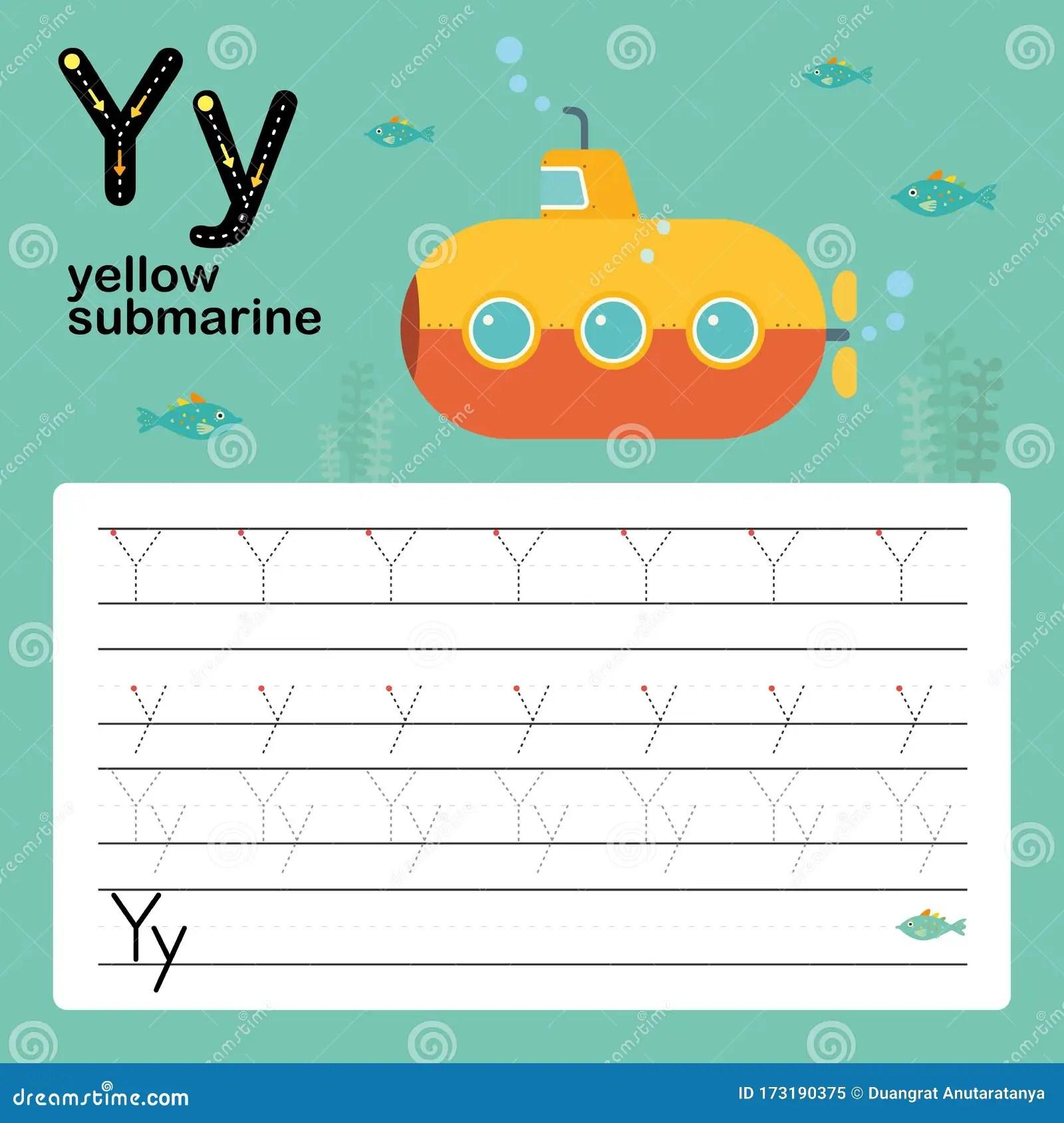 Alphabet Tracing Worksheet For Preschool And Kindergarten