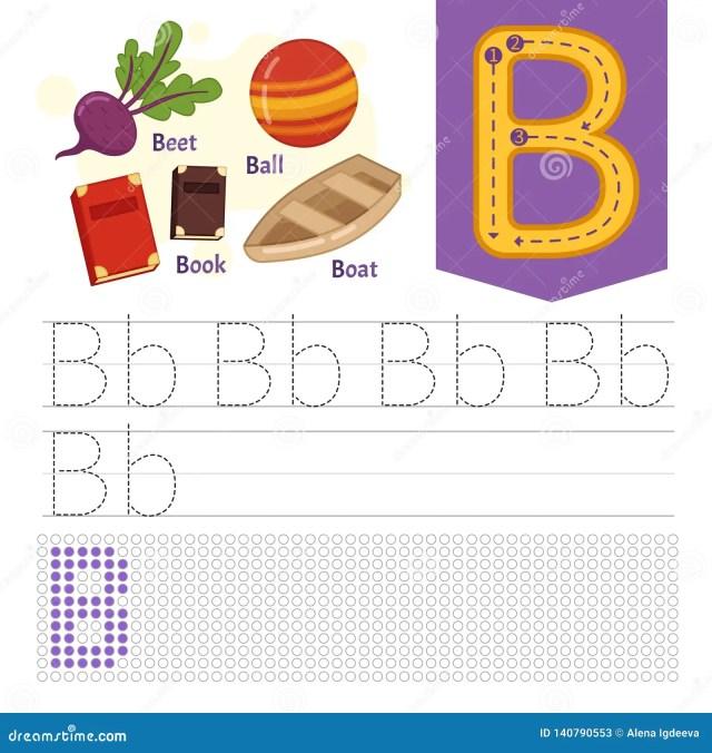 Kids learning material. stock vector. Illustration of preschool