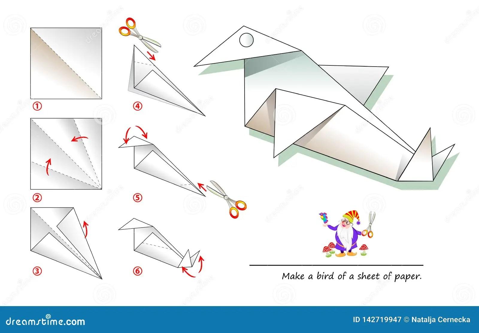Free Printable Origami Templates For Kids Jadwal Bus