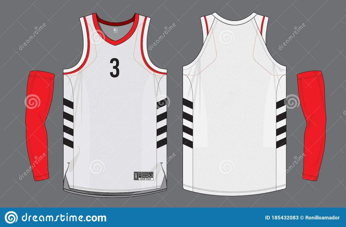 Download PrintBasketball Jersey Uniform Template Mockup Isolated ...