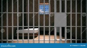 prison cell jail interior door dark della locked closeup prigione illustratie illustrazione achtergrond donkere binnenland gesloten gevangeniscel het scuro cella