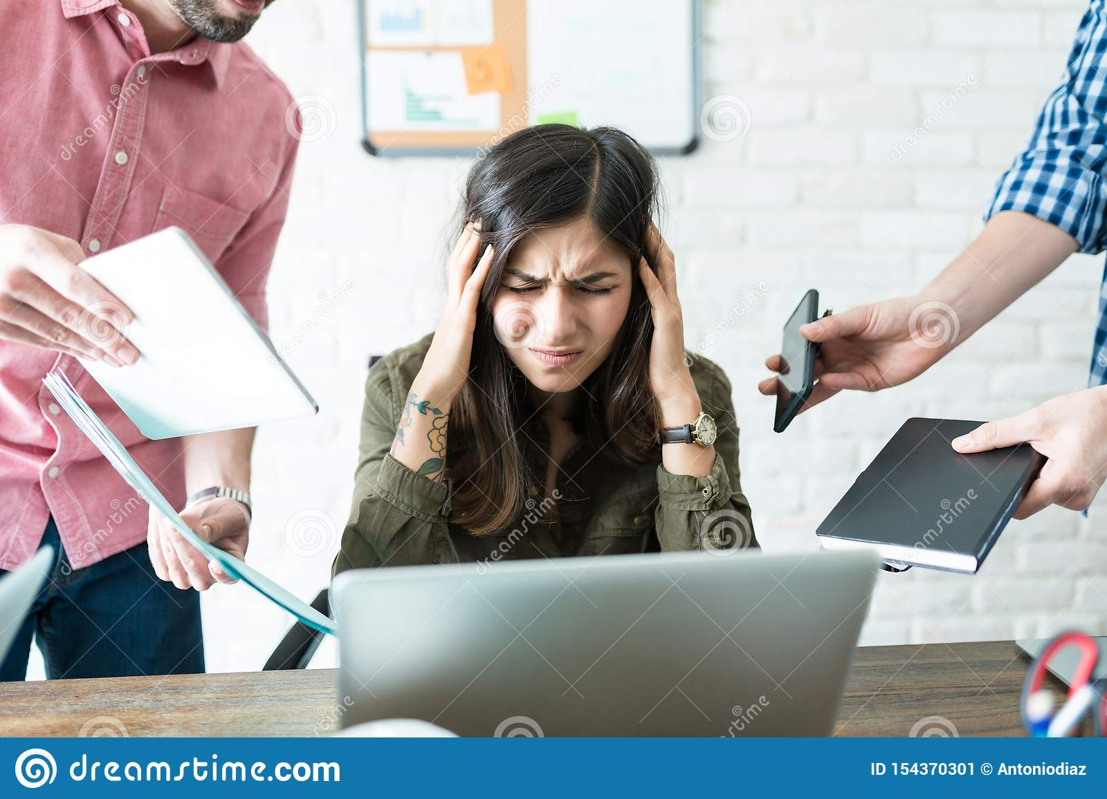 Professional Unable To Cope With Assigned Tasks Stock ...