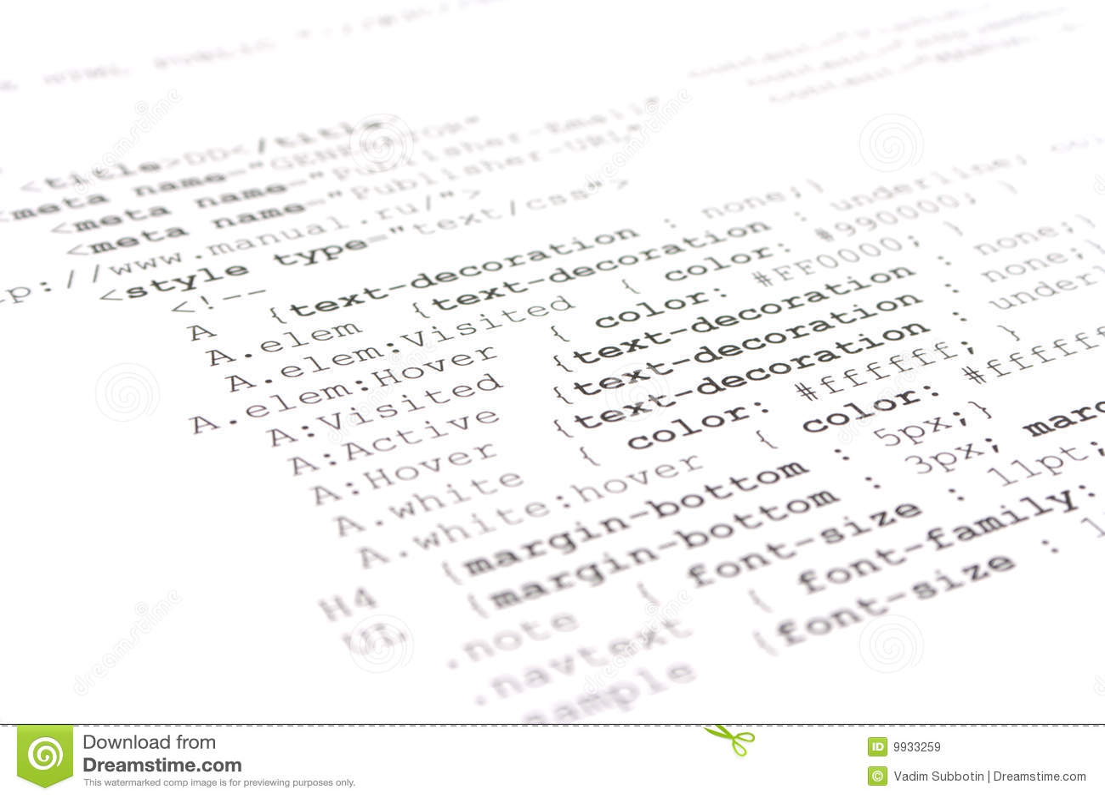 Programming html code stock image. Image of internet