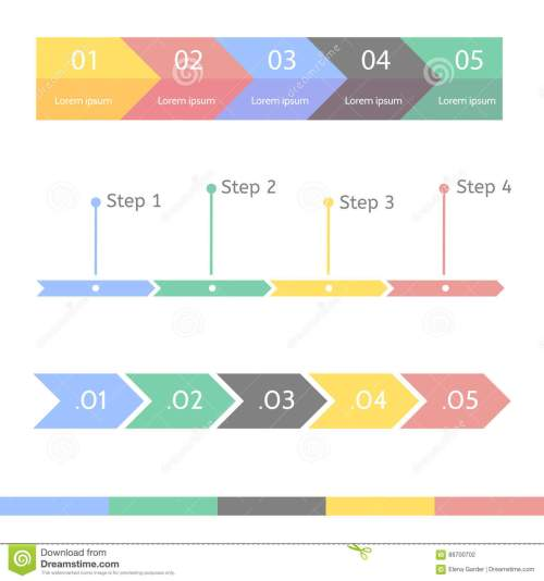 small resolution of progress chart statistic concept business flow process diagram infographic template for presentation timeline statistical chart