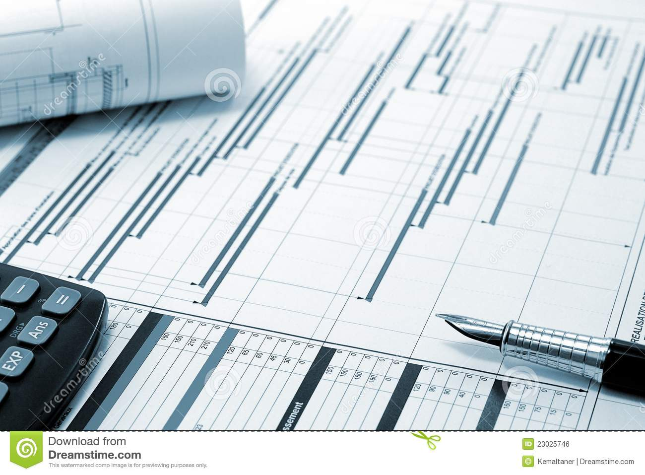 Project Management  Construction Project Planning Royalty Free Stock Image  Image 23025746