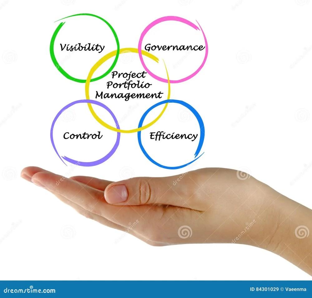 medium resolution of presenting diagram of project portfolio management
