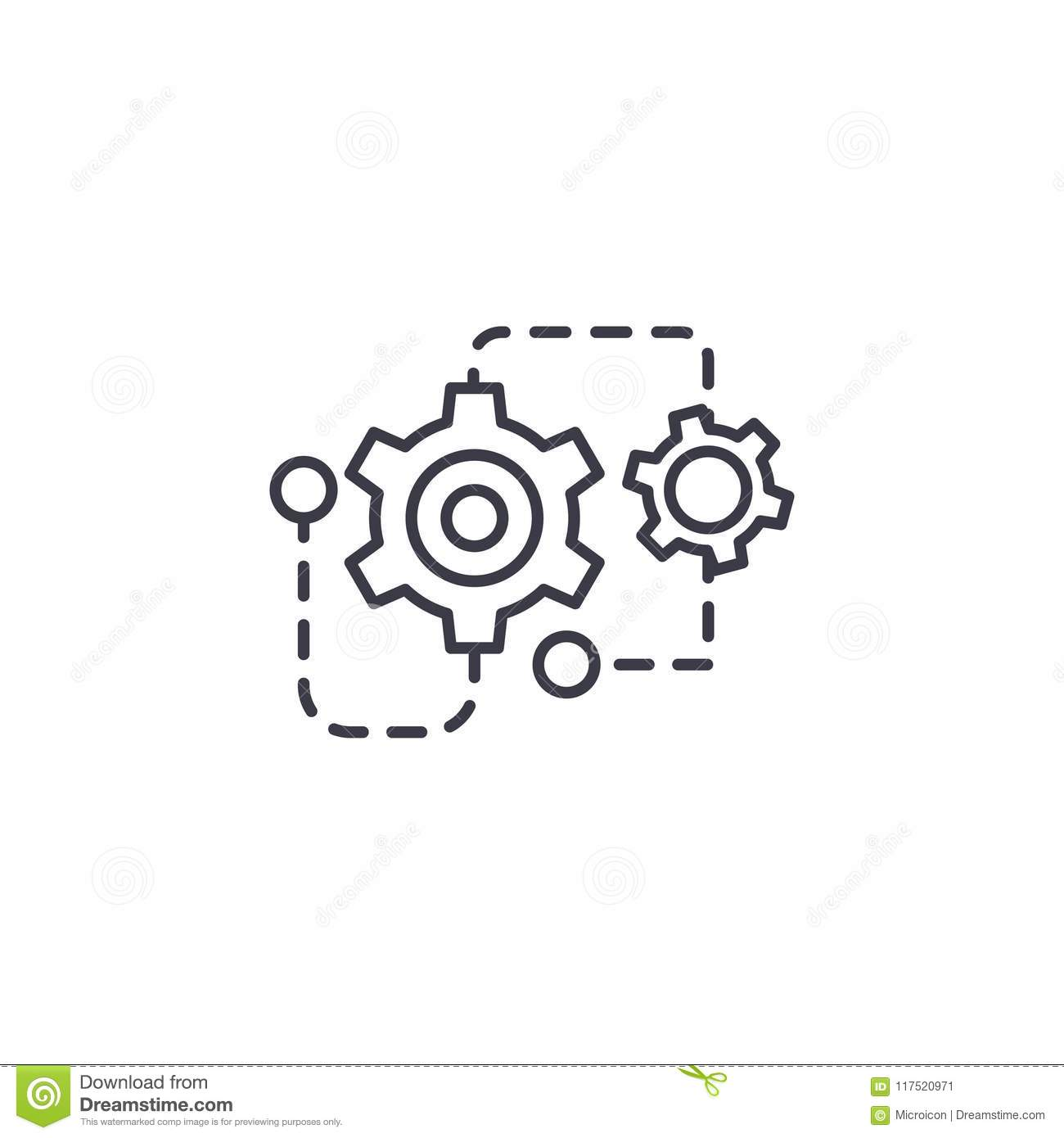 Cad Work Royalty Free Stock Photo