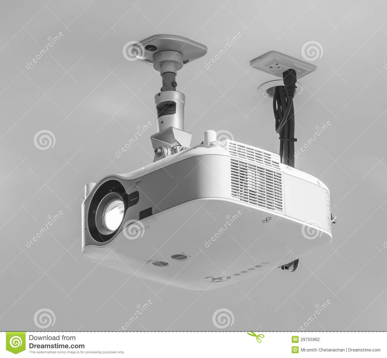 Projector stock photo. Image of home, light, movie