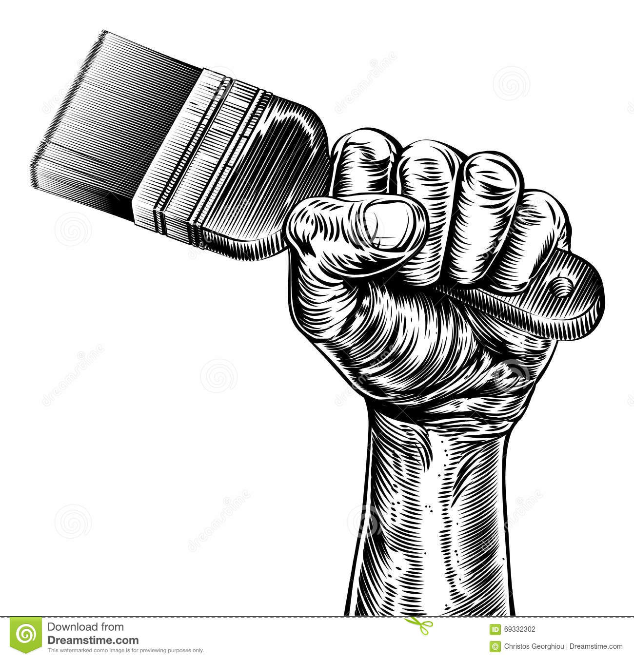 Fist Clip Art Black And White