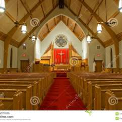 Inside Protestant Church Diagram 2016 Club Car Precedent Gas Wiring Sanctuary Stock Image Of Pews