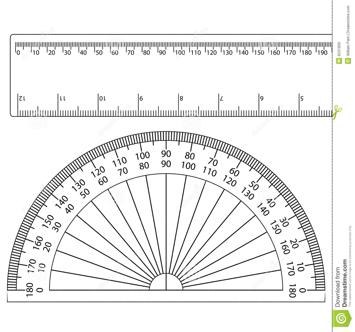 Full Circle Protractor Template | Sample Resume Service