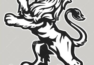 Rampant Lion Tattoo Designs