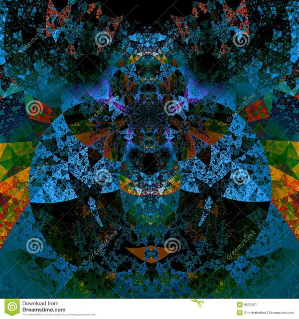Abstract Psychedelic Art