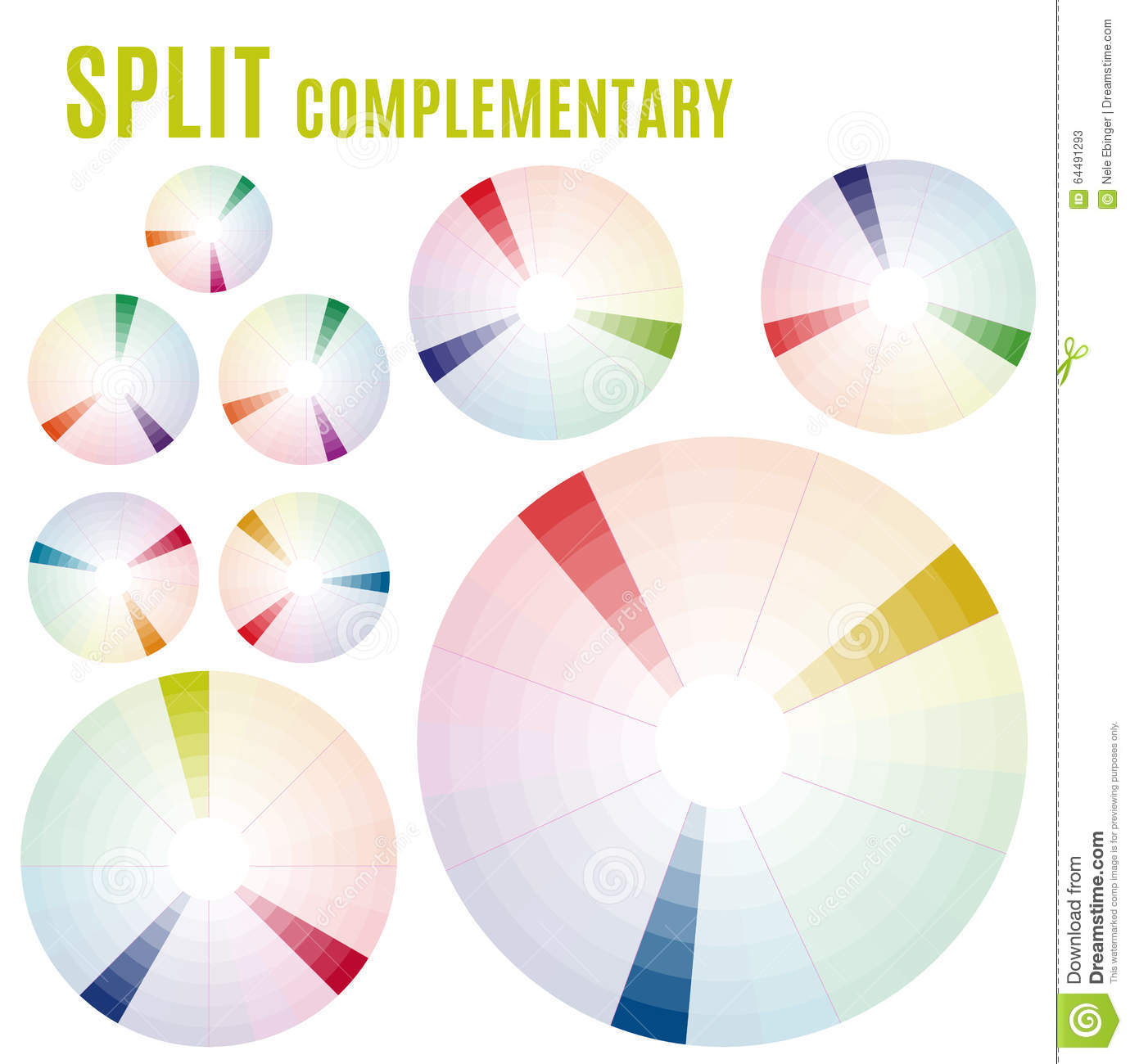 hight resolution of the psychology of colors diagram wheel basic colors meaning split complementary set part
