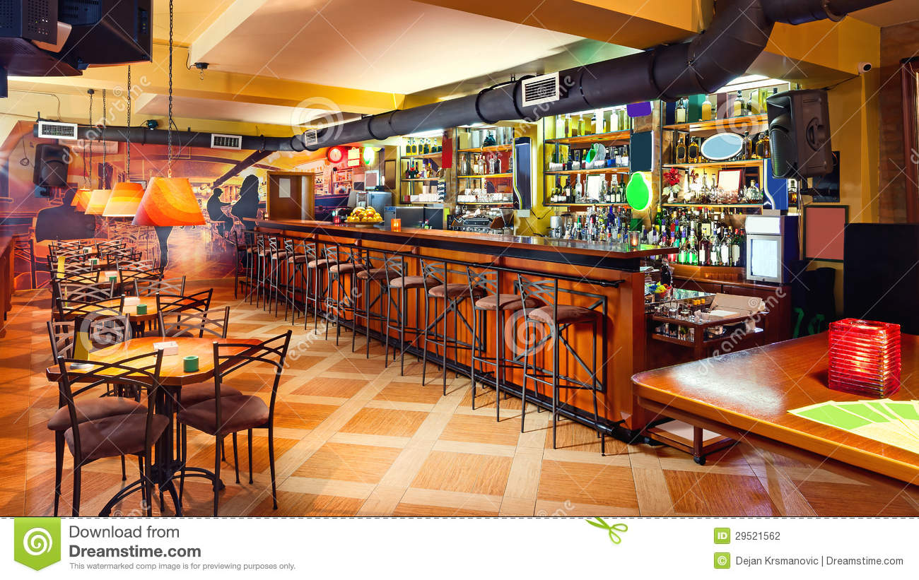 orange cafe chairs folding table and walmart pub interior stock photo. image of contemporary, fancy - 29521562