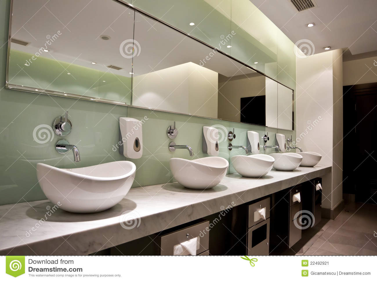 Public Restroom Stock Image  Image 22492921