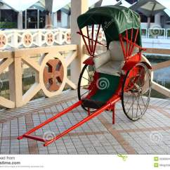 Wheel Chair Prices Assembled Dining Chairs Pulled Rickshaw Stock Photos - Image: 22300643