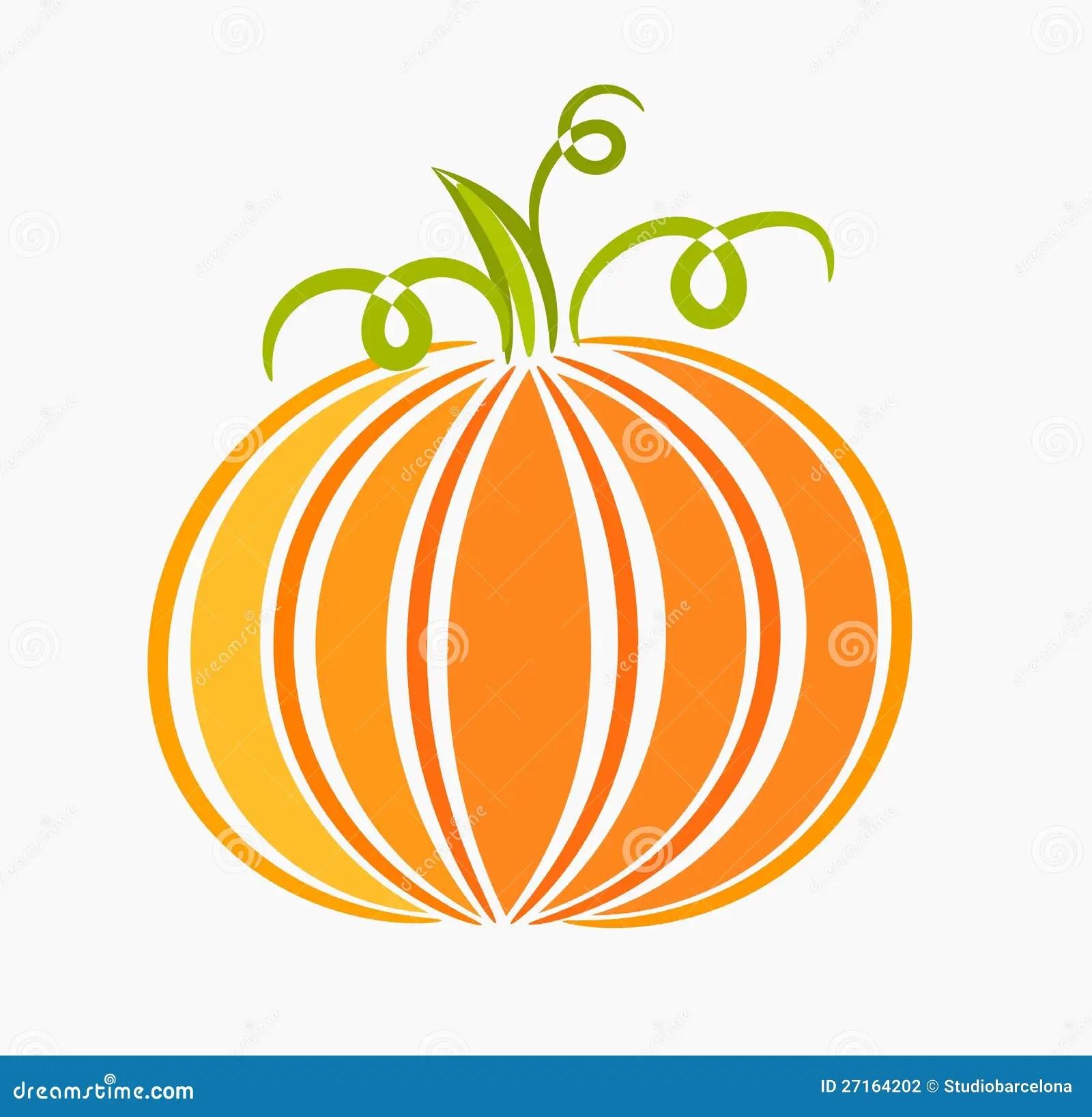 Pumpkin Illustration Stock Photography