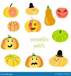 pumpkin patch clipart versatile cartoon characters  [ 1600 x 1690 Pixel ]