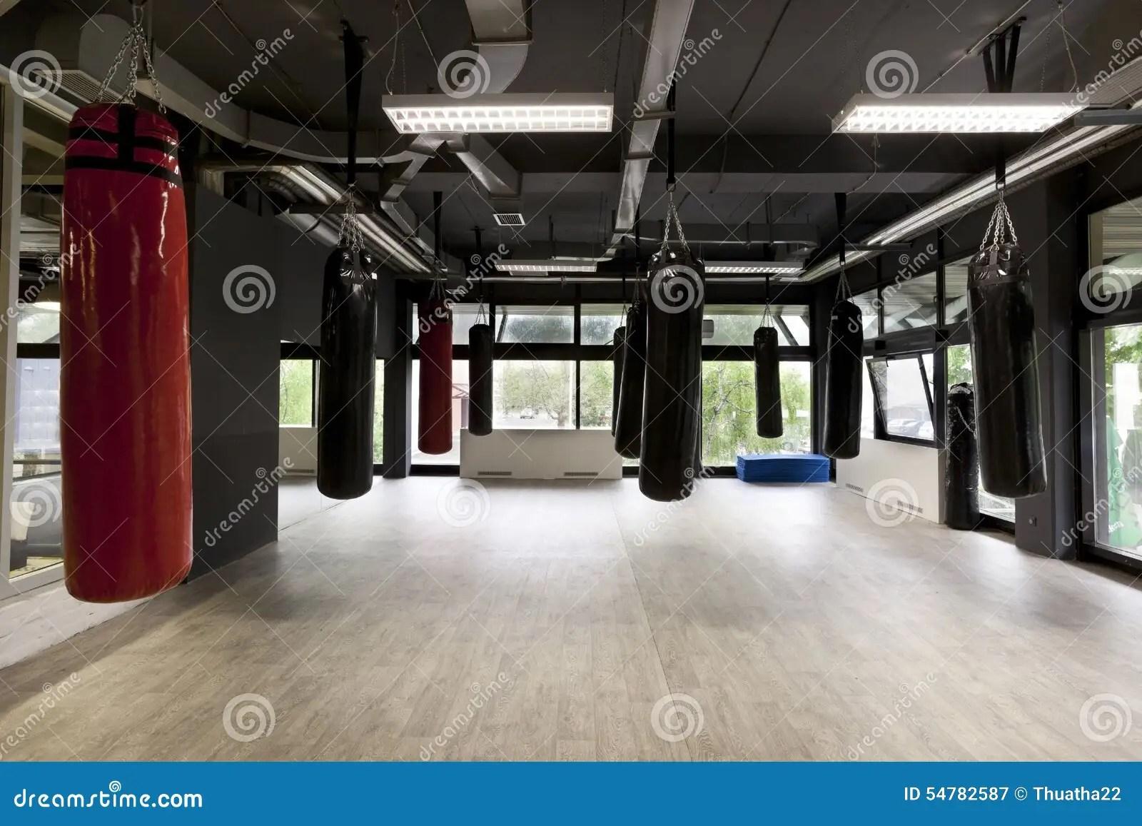 punching bags in modern