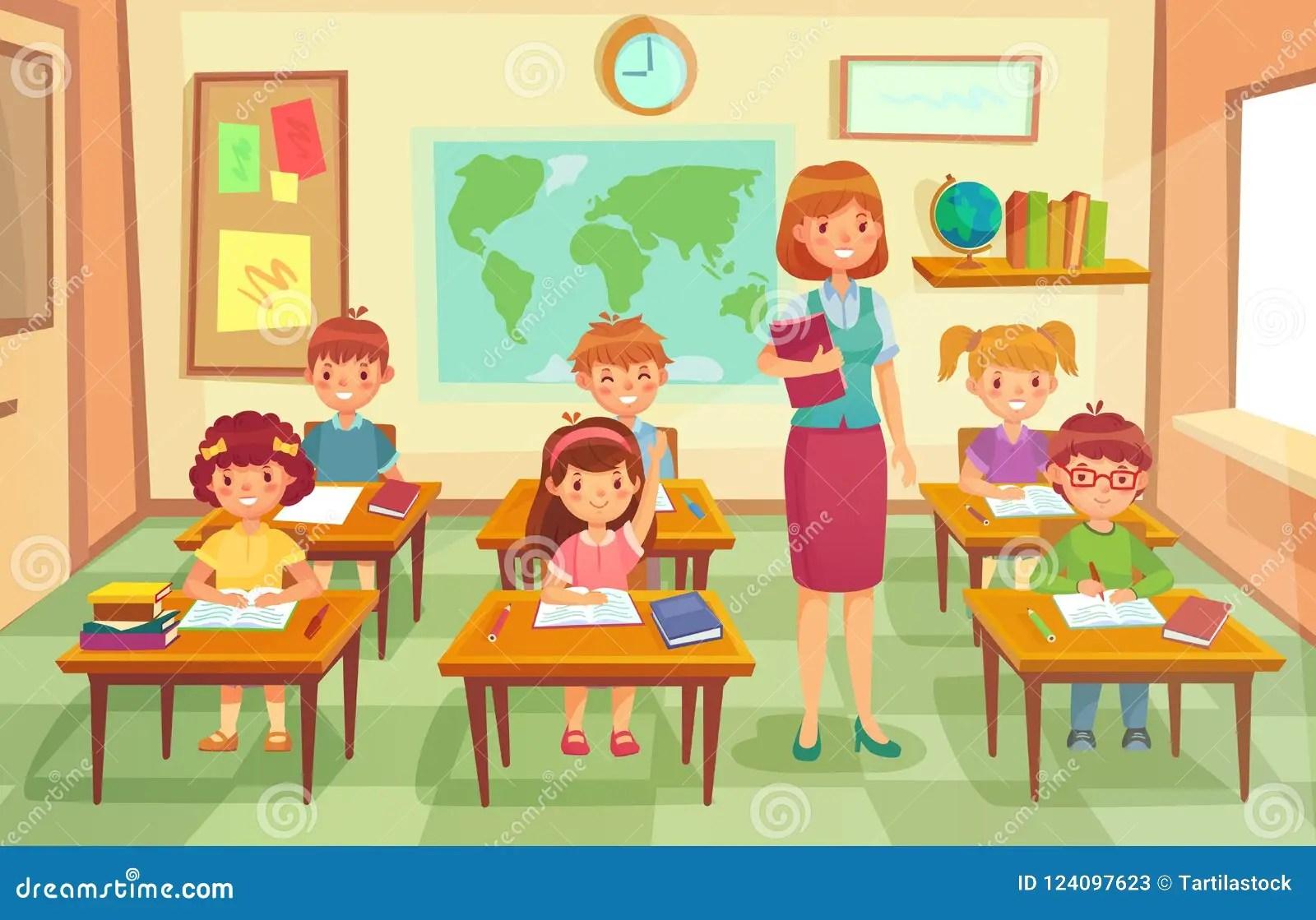 Classroom Cartoon Stock Illustrations 19 725 Classroom