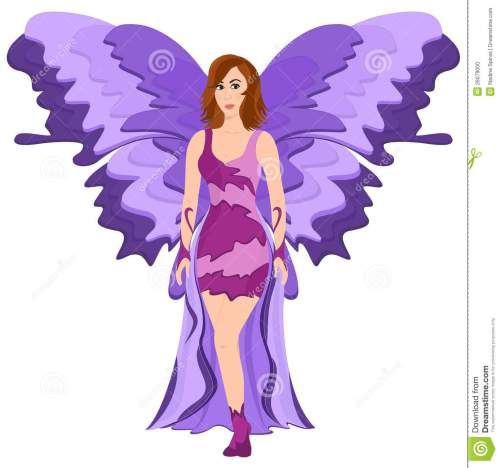 small resolution of purple butterfly fairy