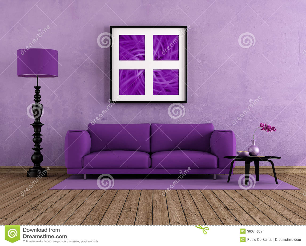 living room wooden sofa furniture design pictures remodel decor and ideas purple royalty free stock photography - image ...