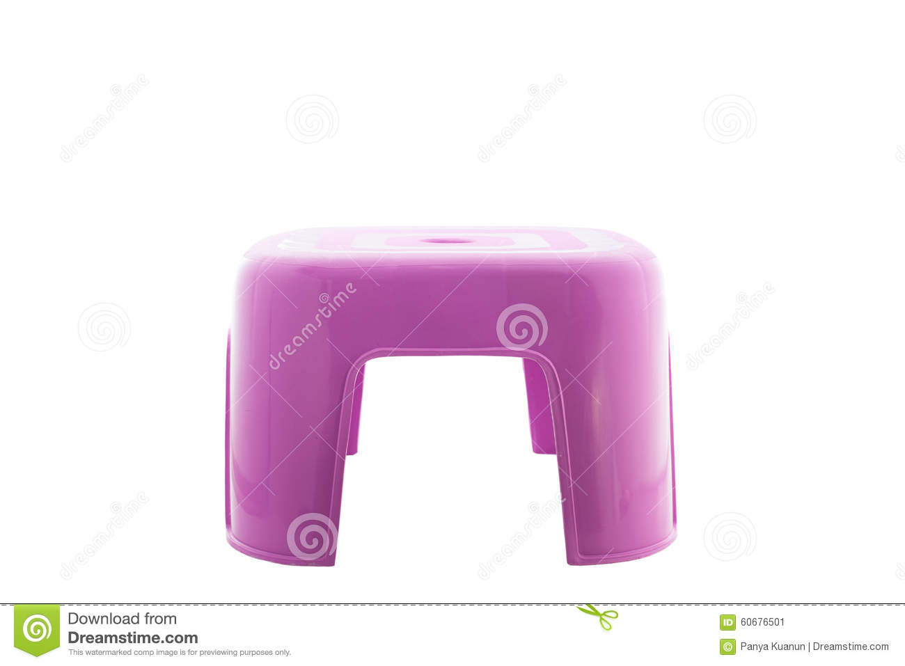 small plastic chair desk australia purple on isolated white background