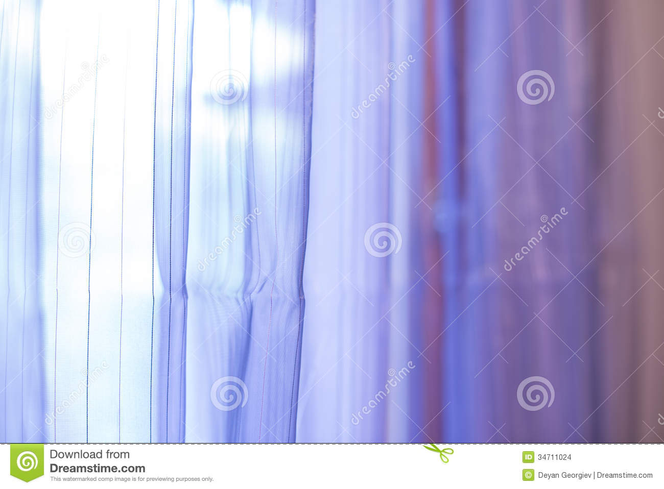 Purple Transparent Curtain Background Stock Photo  Image
