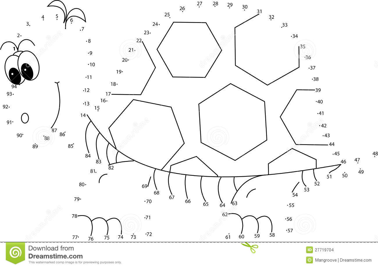 Puzzle Game For Kids Turtle Stock Images