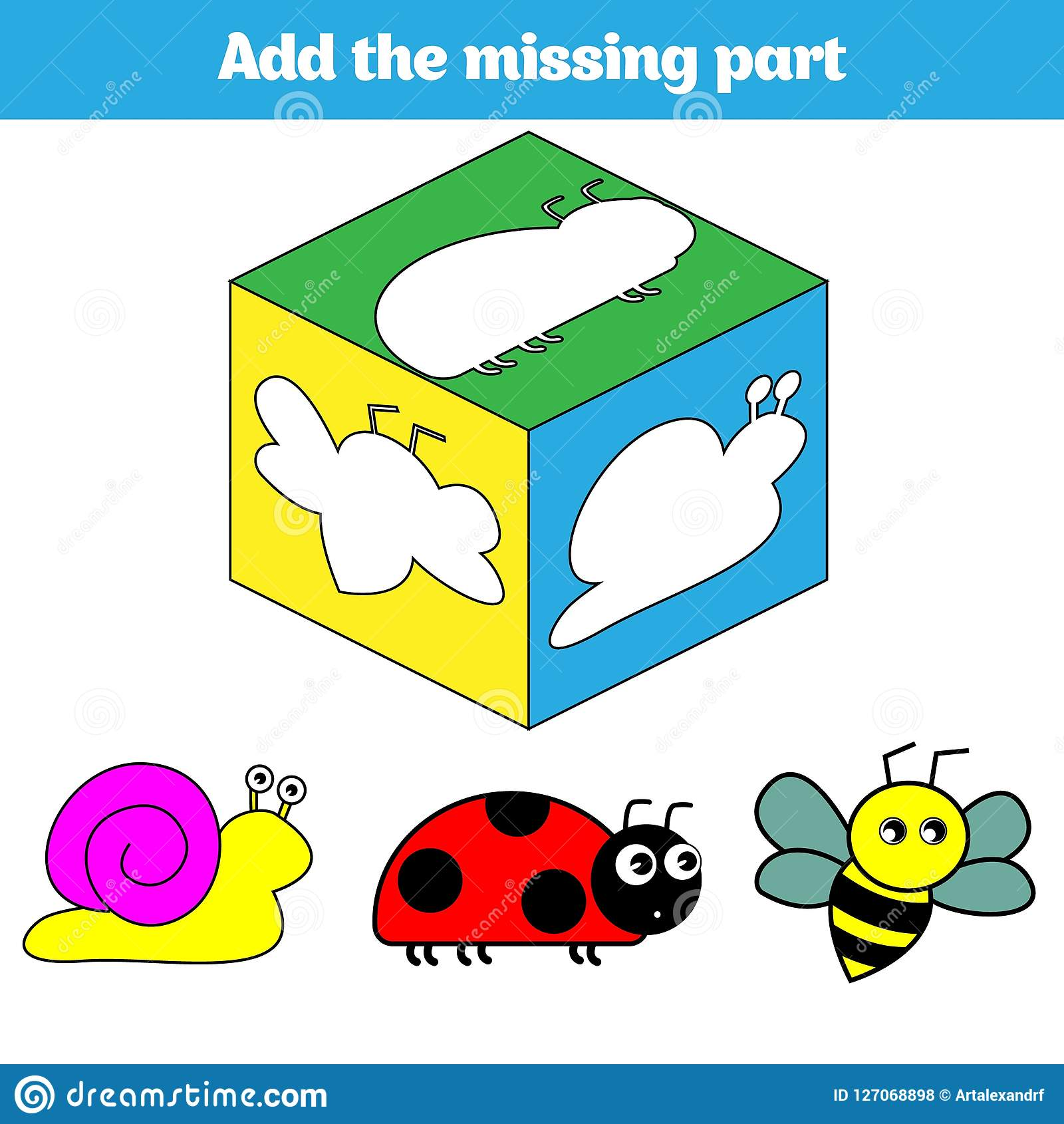 Puzzle Game Visual Educational Game For Children Task