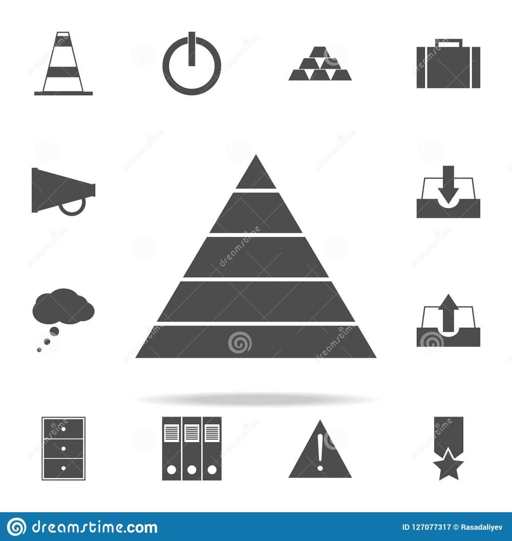 medium resolution of pyramid diagram icon web icons universal set for web and mobile