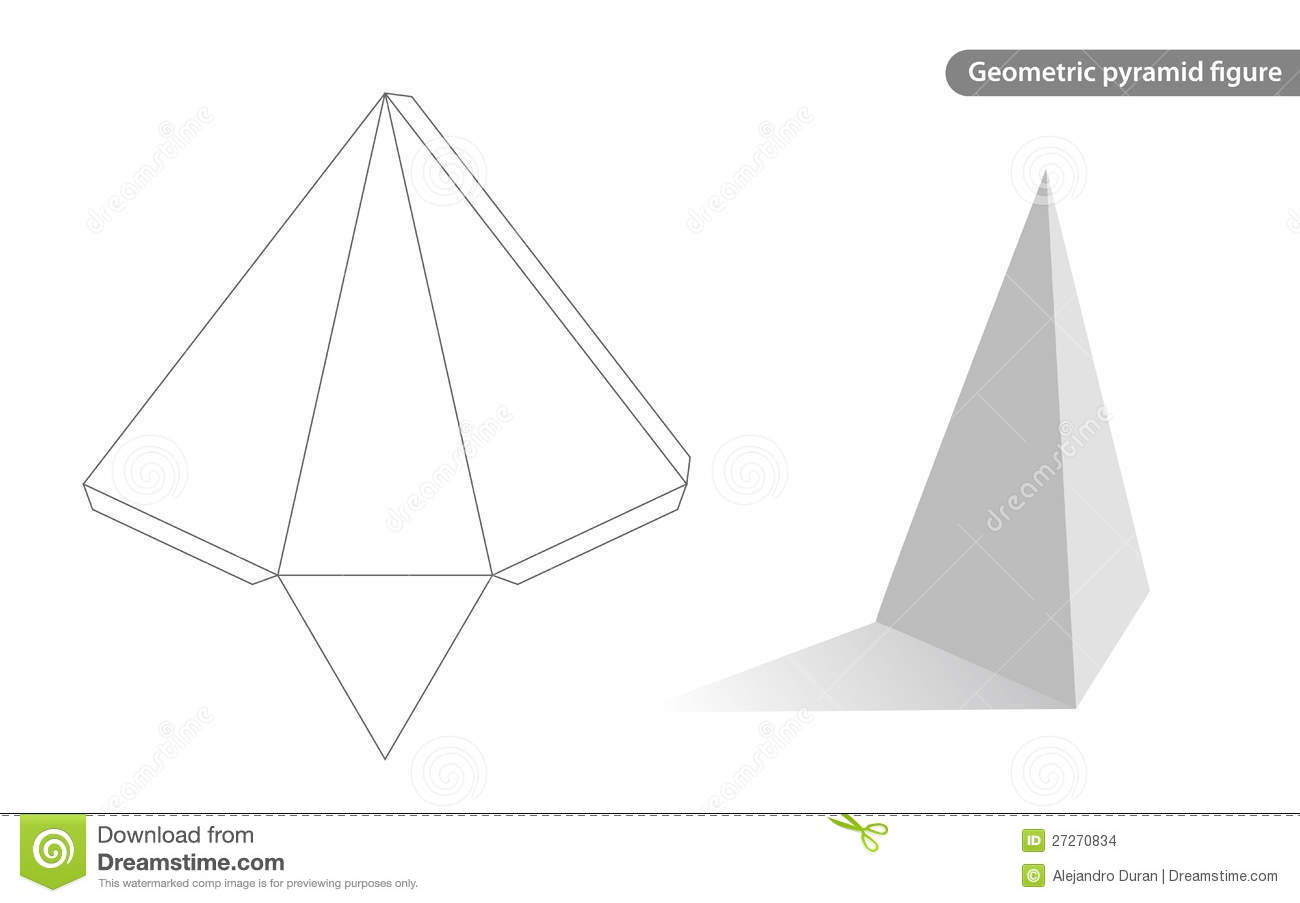 blank pyramid diagram 5 all electrical wiring diagrams geometric stock vector illustration of