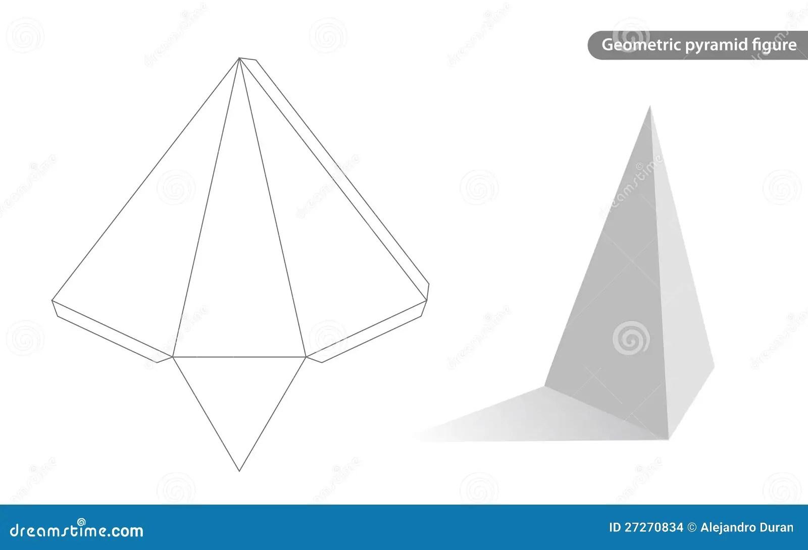 blank pyramid diagram 5 trs female wiring geometric stock vector illustration of