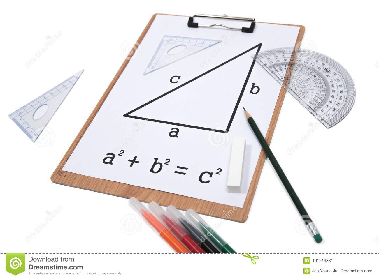Pythagorean Theorem Stock Images