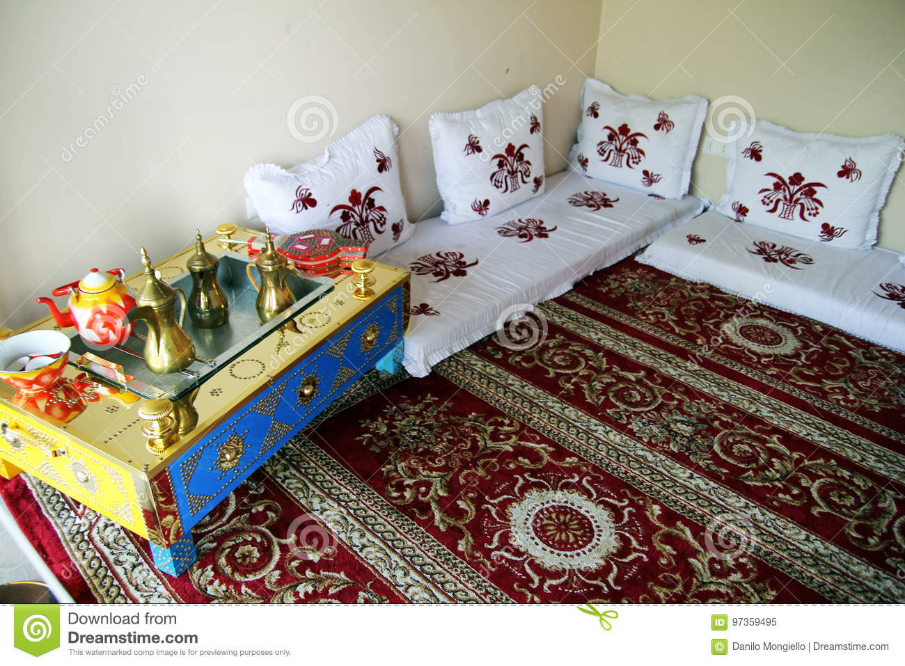 arabic living room furniture design your app qatar stock image of jordan 97359495 a traditional at doha in