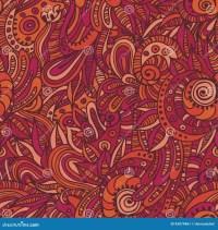 Quaint Indian Seamless Pattern Stock Vector - Illustration ...