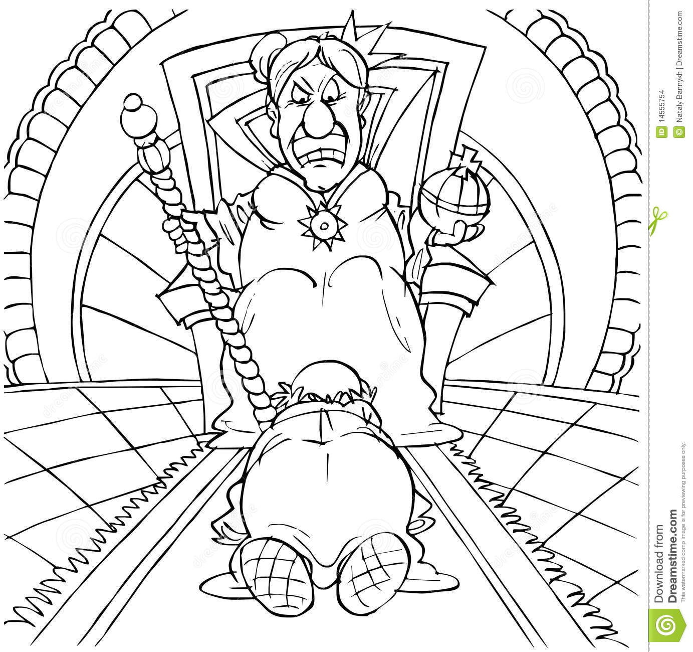 Free throne coloring pages