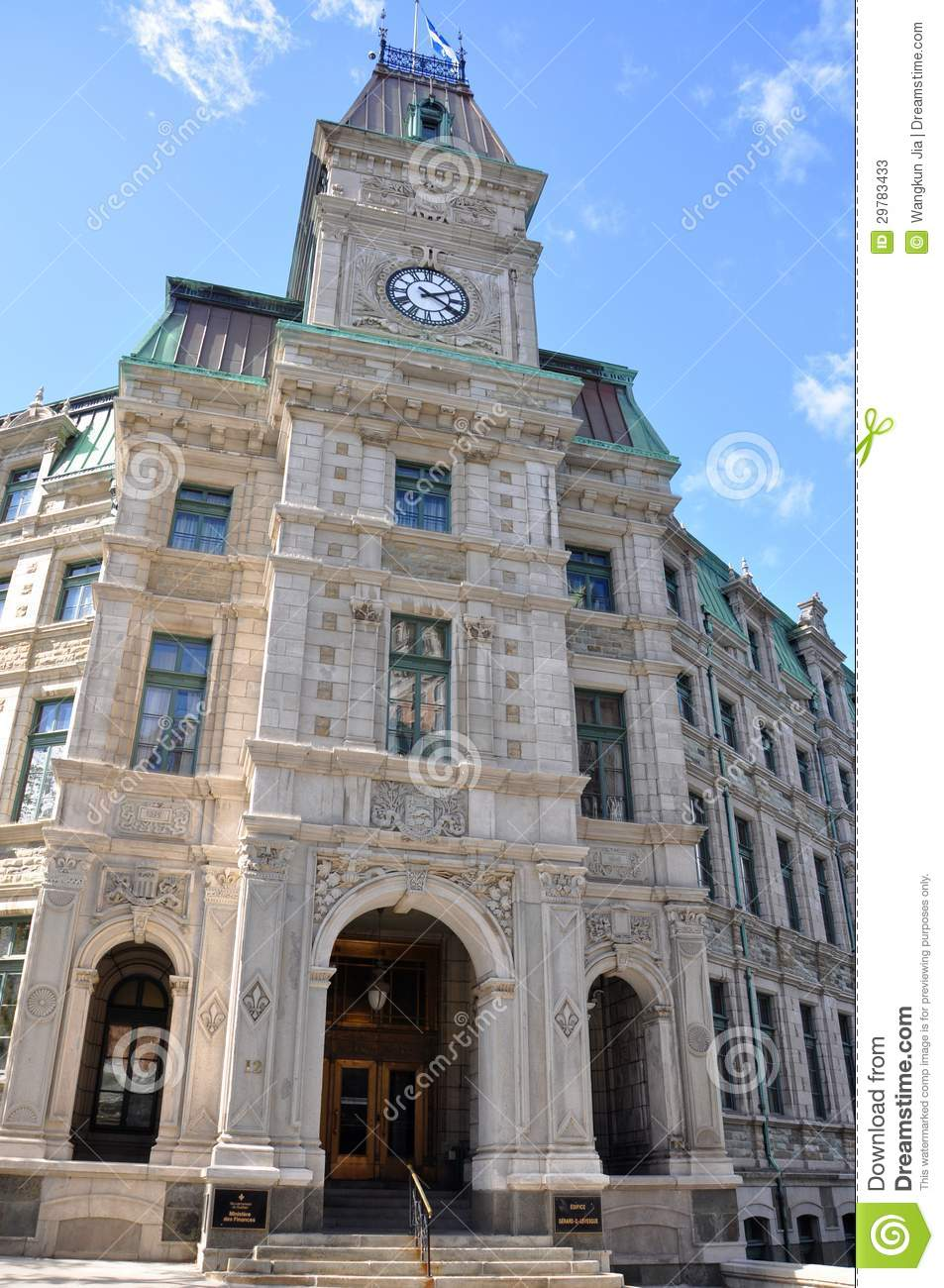 Quebec City Court House Editorial Stock Photo  Image 29783433