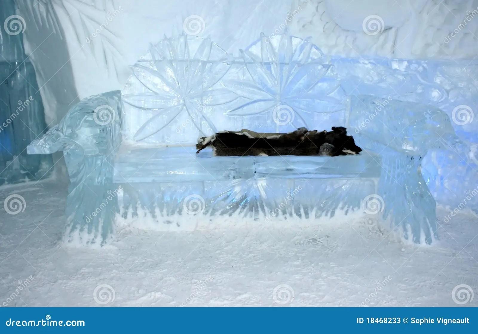 Quebec Ice Hotel Interior Entrance Hall Editorial Stock Photo  Image 18468233