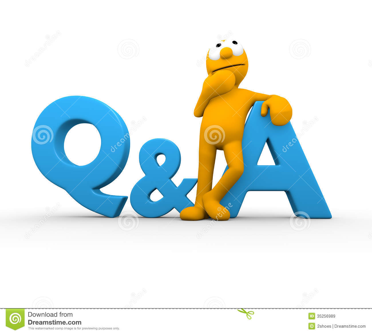 Question Amp Answer Stock Illustration Illustration Of